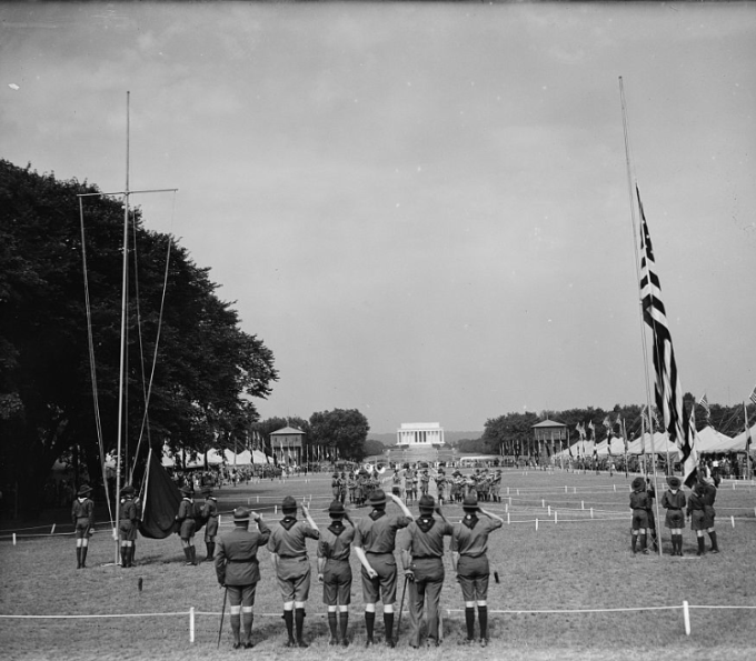 DAYS GONE BY: Boy Scouts of America in Washington DC