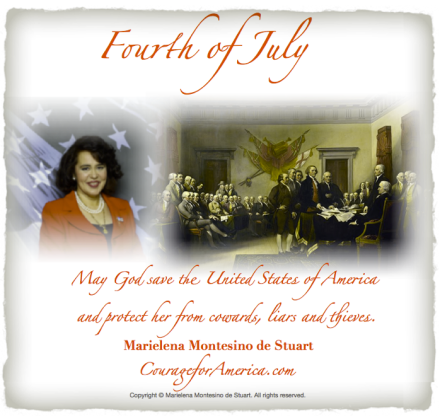 FOURTH OF JULY, 2013 - Copyright © Marielena Montesino de Stuart. All rights reserved.