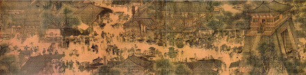 Along the River During the Qingming Festival (1085–1145 A.D.) Palace Museum, Beijing