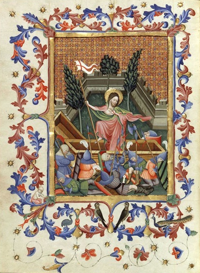 Breviary of King Martin of Aragon (1356-1410) was King of Aragon from 1396 to 1410. His breviary was made around 1400 in the monastery of Poblet in Catalonia and was completed around 1420 to 1430 by order of Alfonso V.