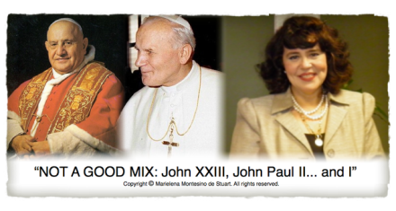 JOHN XXIII, JOHN PAUL II... AND I - Copyright © Marielena Montesino de Stuart. All rights reserved. -3